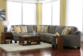 Ashley Furniture Kitchener Chamberly Alloy Raf Cuddler Sectional From Ashley 2430275