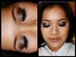 Makeup Tutorial Using <b>MAC's Blue Brown</b> Pigment I makeupbyritz ...