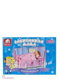 <b>Кроватка для кукол</b> S-S 2410454 в интернет-магазине Wildberries ...
