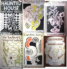 montage of vanessa bell s cover designs for virginia woolf s texts 2426 pixels