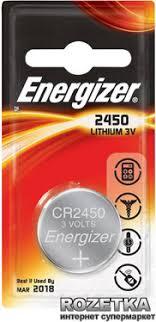 ROZETKA | <b>Батарейка Energizer Lithium CR2450</b> PIP-1 (2413490 ...
