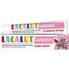 <b>Lacalut</b> Baby <b>junior</b> toothpaste <b>sweet</b> berry 75 ml - pandababy