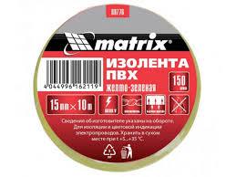 <b>Изолента</b> Matrix <b>15mm</b> x 10m White 88775 - Красота и здоровье