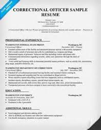 sample resume for lieutenant in a correctional  correctional    sample correctional officer resume police