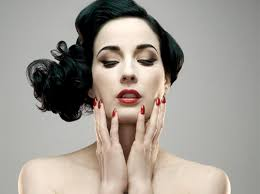 dita von teese launches vine hollywood glamor collection