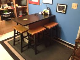 furniture ideas pleasureable dark brown office table top as excerpt for bar shabby chic home breakfast bars furniture