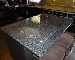 Granite Tile Kitchen Deep Blue Pearl Granite Granite Tile Countertop For Kitchen