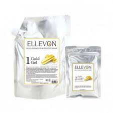 Премиум <b>альгинатная маска с</b> золотом <b>ELLEVON</b>