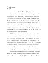 sample business complaint letter response reply to complaint complaint letter template consumer complaint letter sample and sample