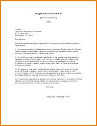 9 Sample Of Certification Letter Nurse Resumed