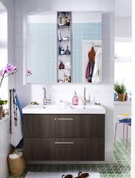 Bathroom Drawers Ikea Small Bathroom Design Ideas Wooden Vanity White Wash Basin Green