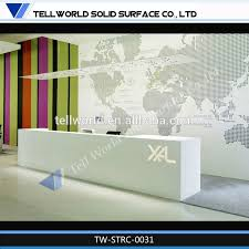 chic reception desk chic reception desk suppliers and manufacturers at alibabacom acrylic lighted reception desk reception counter design