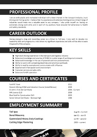 truck driver resume equations solver skills for retail resumehow to write a perfect truck driver resume