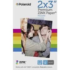 "<b>Polaroid Zink 2 x 3</b>"" Premium Zero Ink Paper 30 Pack | Officeworks"