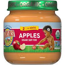 <b>Apples</b> Stage 2 <b>Baby</b> Jarred <b>Food</b> | Earth's Best