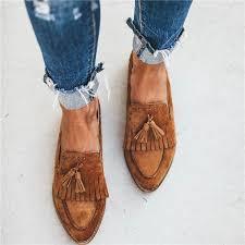 <b>Vertvie</b> Women Flats <b>2019 New</b> Spring Shoes Women Casual Solid ...