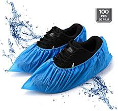 LIVINO Shoe Covers Disposable, <b>100 Pieces</b> (50 Pair) <b>Nonwoven</b> ...