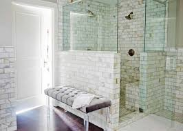 spa bathroom showers: give star for small master bathroom remodel ideas with dark shower room ceramic tile and dark