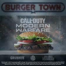 <b>Burger</b> King: <b>Call</b> of Duty: Modern Warfare <b>Burger</b> Town by ...