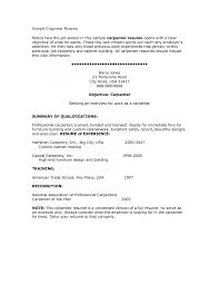 carpentry resume template template carpentry resume template