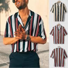 <b>Brand Summer Style</b> Hawaiian Shirt Turn down Collar Short ...