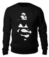 """Толстовки c стильными принтами """"superman"""" - <b>Printio</b>"""