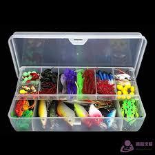 Dragon   <b>141 Pcs</b>/Set <b>Fishing Lures Kit</b> Hooks Crankbait Plas ₱861