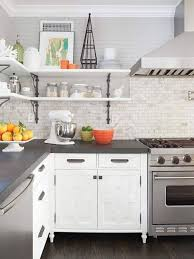 Gray And White Kitchen Designs Magnificent Gray And White Kitchen Design With Kitchen Cabinets