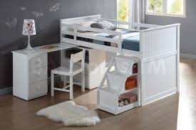 bunk beds kids loft white loft bed with desk and stairs bunk beds kids loft