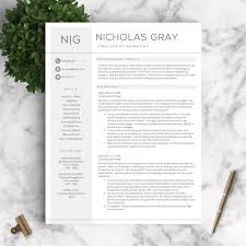 our most popular resume templates resume tips resume templates professional resume template the nicholas