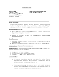 samplebusinessresume com page 16 of 37 business resume entry level career objective for resume for fresher in reserach analyst work experience