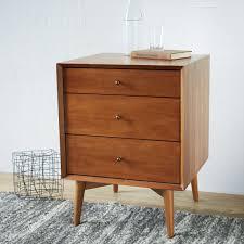 mid century drawer side tables  acorn  west elm au