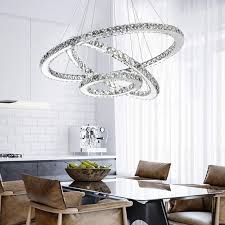 <b>Modern LED Ring</b> Pendant Light Rectangle Ceiling Lamp ...