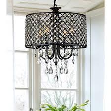 antique black 4 light round crystal chandelier bedroom chandelier lighting