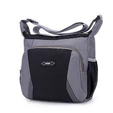 Kata Multi Pocket Shoulder Bag Corss-body Purse <b>Waterproof Nylon</b> ...