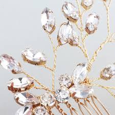 2018 Rystal Accessories <b>SLBRIDAL Gold Handmade Wired</b> ...