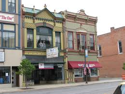 our small towns are dying housesandbooks a flash of hope the thriving downtown district in napoleon ohio is vibrant