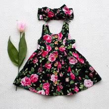 Best value Sleeveless Infant <b>Baby Girls Summer</b> Ruffle Dress ...
