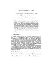 (PDF) Millions of <b>random rules</b>