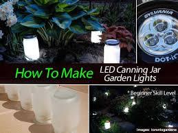 how to make led canning jar garden lights beginner level ball mason jar solar lights