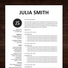 beautiful professional resume template design  amp  cover letter   ms    ms word resume template   instant download �  need a resume design makeover  the