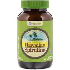 Nutrex Hawaii, <b>Pure Hawaiian Spirulina</b>, <b>500 мг</b>, 400 таблеток ...
