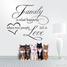 wall decal family art bedroom decor large size family and love vinyl art quotes removable wall decal sticker decor living room and
