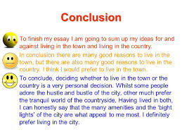 a conclusion to an essay in conclusion essay task choose a topic you find interesting  conclusion to finish