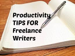 steps to productivity for lance writers noun conformist i make my living on the internet working for a variety of different sites and companies which means making my own hours and picking my own work