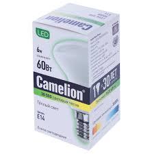 <b>Лампа светодиодная Camelion</b> E14 6 Вт 830 Лм в Москве ...