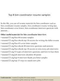 topbimcoordinatorresumesamples lva app thumbnail jpg cb