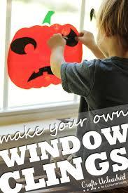 love halloween window decor: homemade halloween decorations kid friendly window clings
