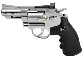"Dan Wesson 2.5"" CO2 BB Revolver, Silver. Air guns - PyramydAir.com"