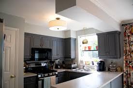 image of flush mount kitchen ceiling lights ceiling lighting ideas